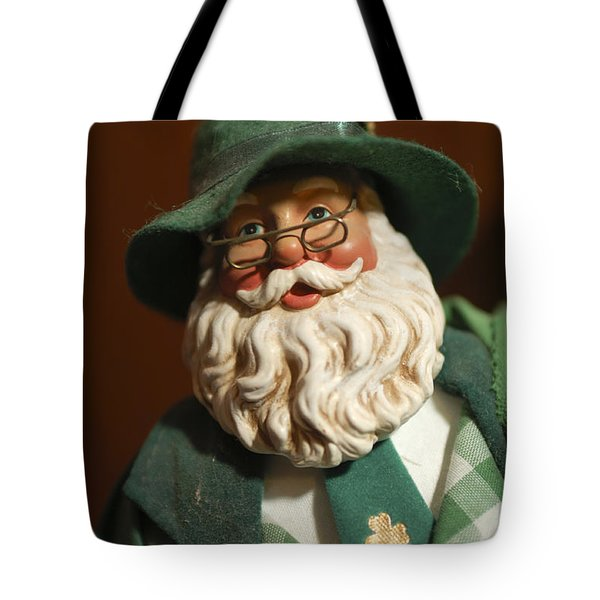 Santa Claus - Antique Ornament - 23 Tote Bag by Jill Reger