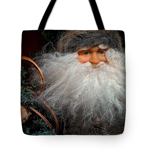 Santa Claus Tote Bag by Christopher Holmes