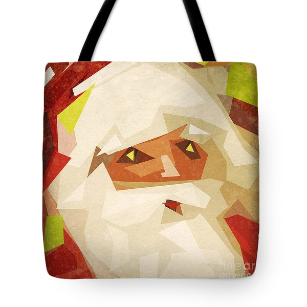 Santa Claus Tote Bag by Setsiri Silapasuwanchai