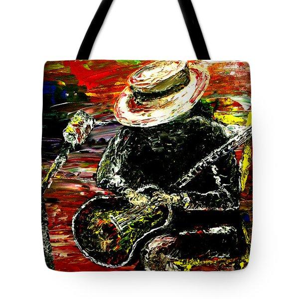 Santana Tote Bag by Mark Moore