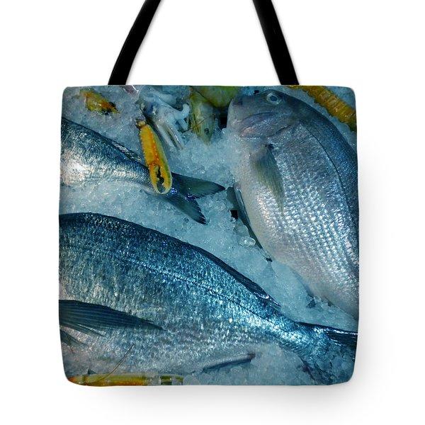 Santorini  Island Fresh  Dorados Tote Bag by Colette V Hera  Guggenheim