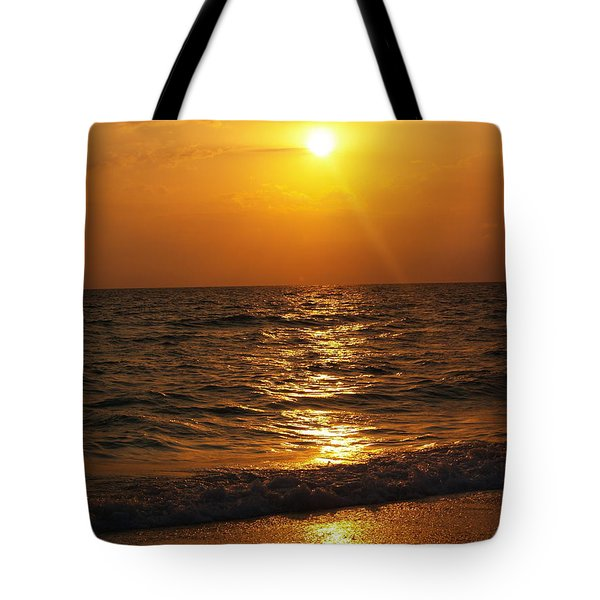 Sarasota Sunset Florida Tote Bag by Athala Carole Bruckner