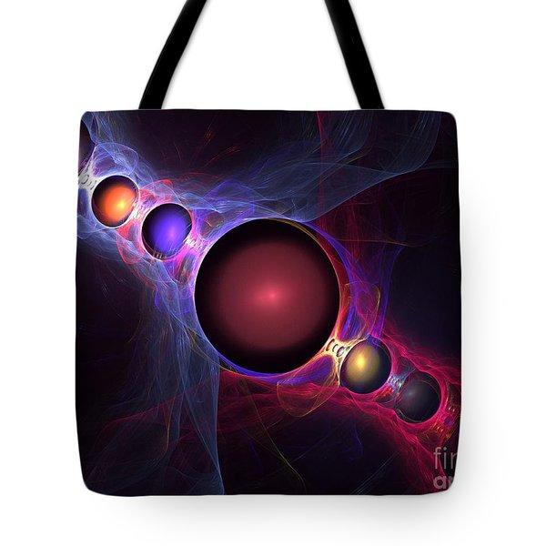 Satellite Tote Bag by Kim Sy Ok