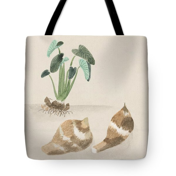 Satoimo Taro Potato  Tote Bag by Aged Pixel