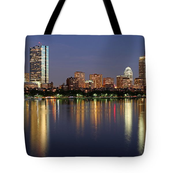Saturday Night Live In Beantown Tote Bag by Juergen Roth