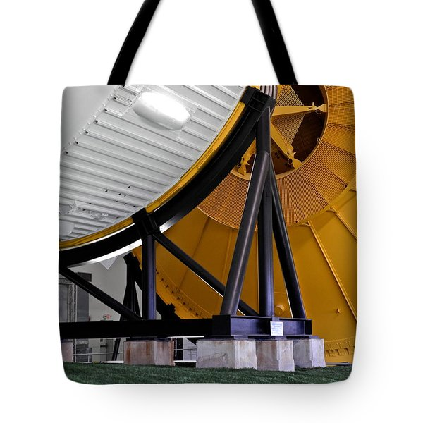 Saturn V Launch Vehicle Closeup Tote Bag by Kirsten Giving
