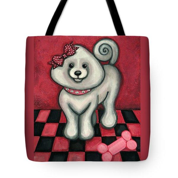 Savannah Smiles Tote Bag by Victoria De Almeida