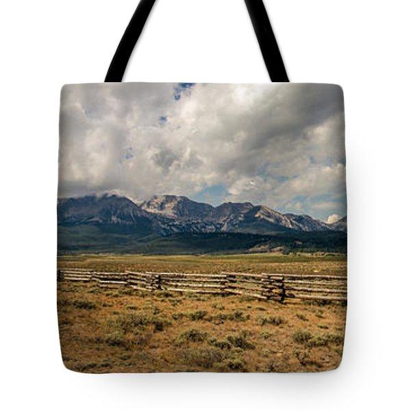 Sawtooth Range Tote Bag by Robert Bales