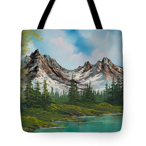 Sawtooth Saddle Tote Bag by C Steele