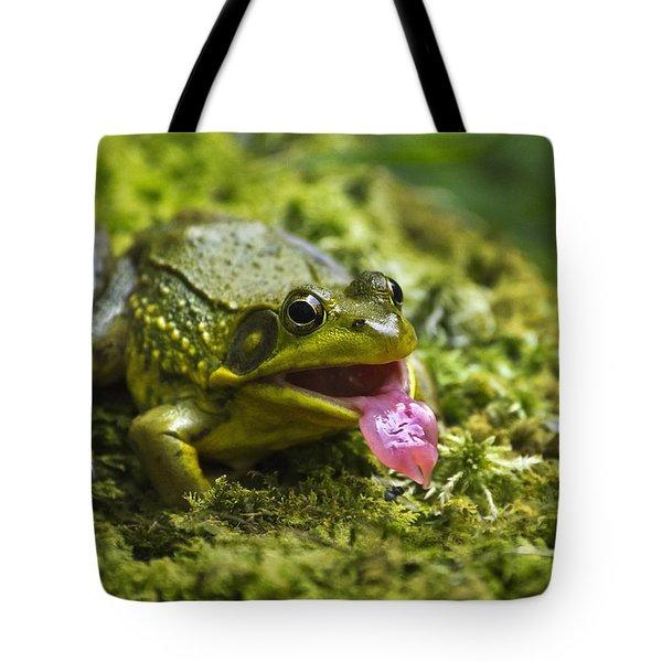 Say Ahhhh Tote Bag by Christina Rollo