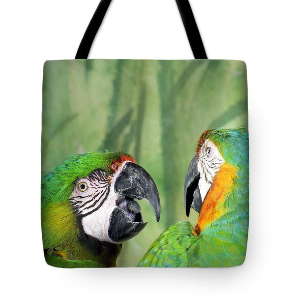 Say What? You Grounded Me For Flirting With Chick Named Daisy? Tote Bag by Lingfai Leung