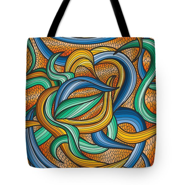 Scale Tote Bag by Don Kuing