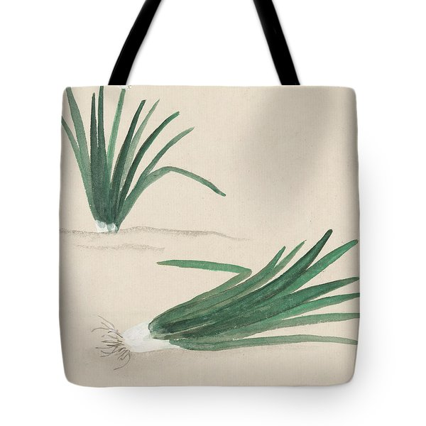 Scallions Tote Bag by Aged Pixel