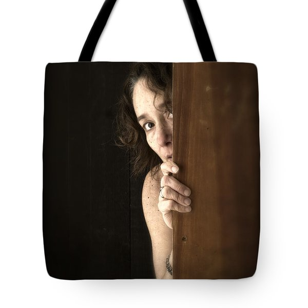 Scared Tote Bag by Edward Fielding