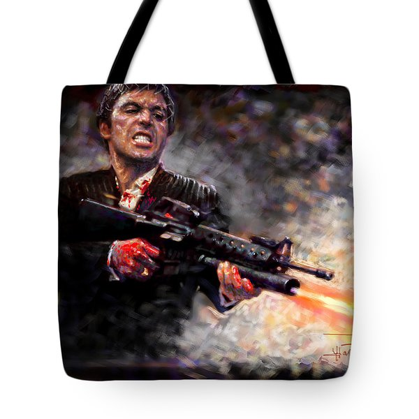 Scarface Tote Bag by Viola El