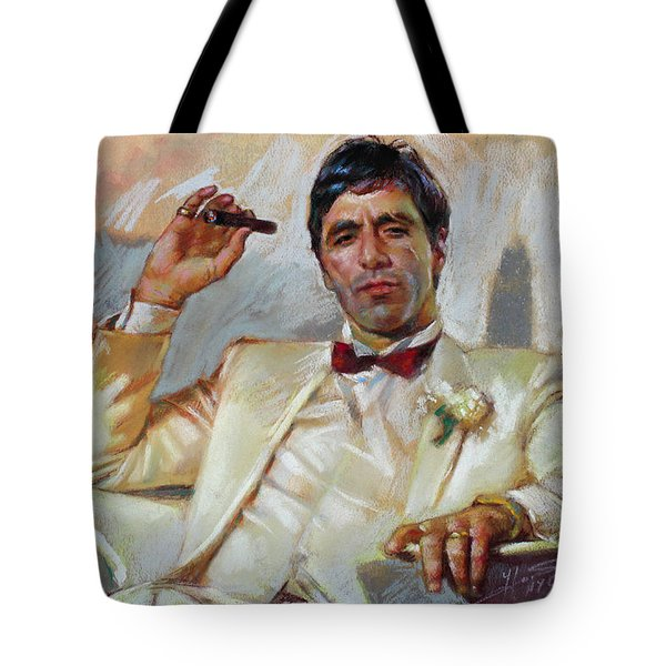 Scarface Tote Bag by Ylli Haruni