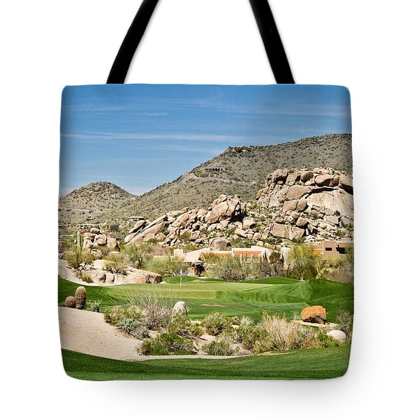 Scenic Approach Tote Bag by Scott Pellegrin