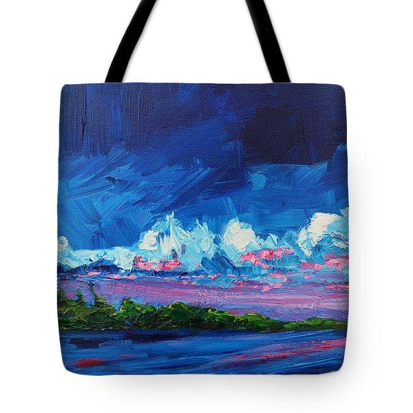 Scenic Landscape Tote Bag by Patricia Awapara
