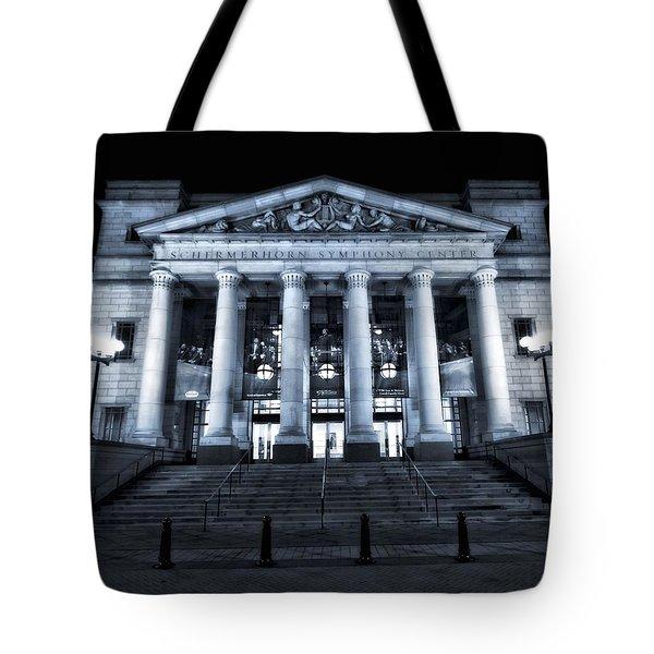 Schermerhorn Symphony Center Tote Bag by Dan Sproul