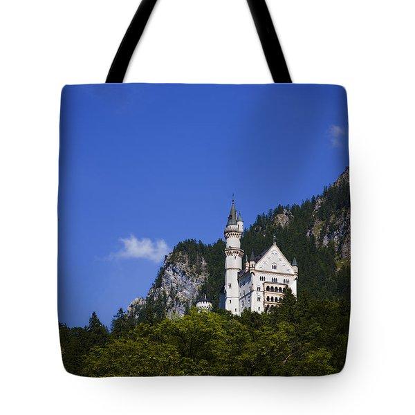 Schloss Neuschwanstein Tote Bag by Joanna Madloch
