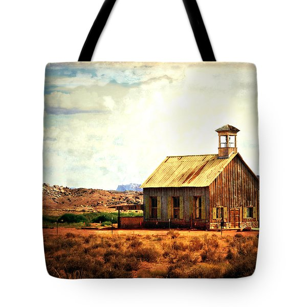 Schoolhouse 1 Tote Bag by Marty Koch