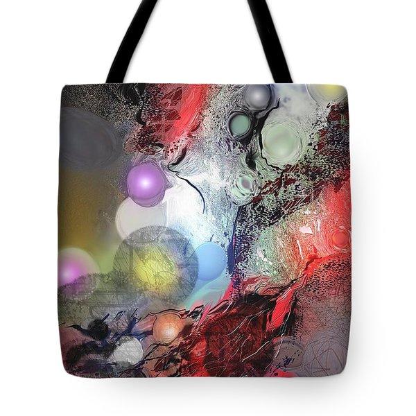 Sci-fi Tote Bag by Francoise Dugourd-Caput
