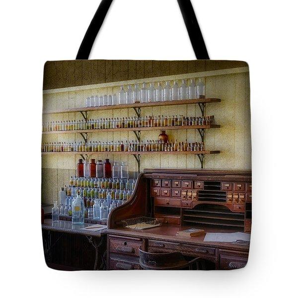Scientist Office Tote Bag by Susan Candelario