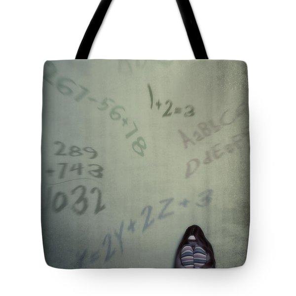 Scolionophobia - Fear Of School Tote Bag by Joana Kruse