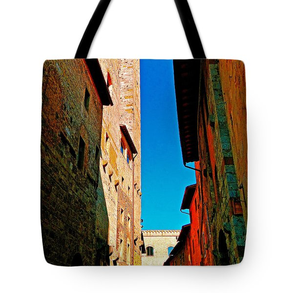 Scorched By The Sun Tote Bag by Ira Shander