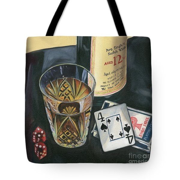 Scotch And Cigars 2 Tote Bag by Debbie DeWitt