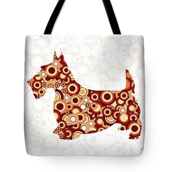Scottish Terrier - Animal Art Tote Bag by Anastasiya Malakhova
