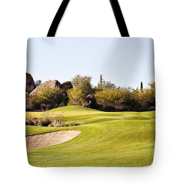 Scottsdale Golf Tote Bag by Scott Pellegrin
