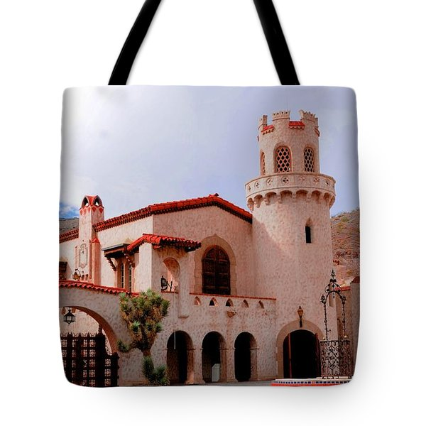 Scotty's Castle Tote Bag by Kathleen Struckle