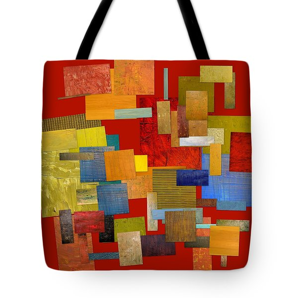 Scrambled Eggs l Tote Bag by Michelle Calkins