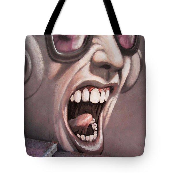 Screamer Tote Bag by Gillian Singleton