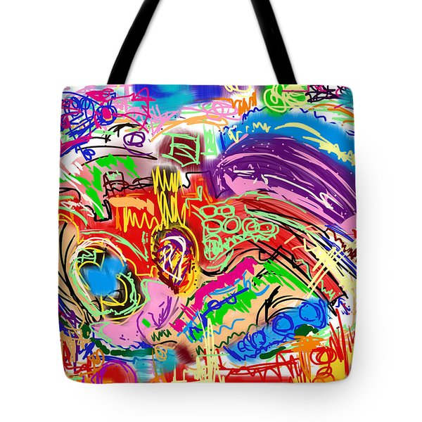 Scribble Tote Bag by Gerry Robins