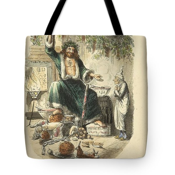 Scrooges Third Visitor Tote Bag by Philip Ralley