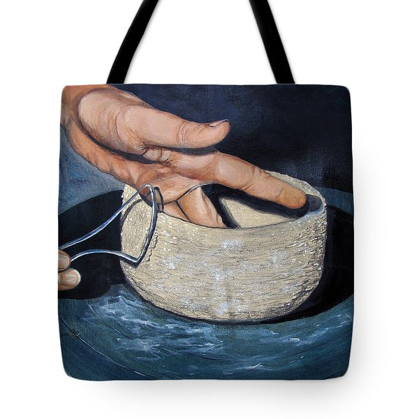 Sculpted By The Masters Hands Tote Bag by Karon Melillo DeVega