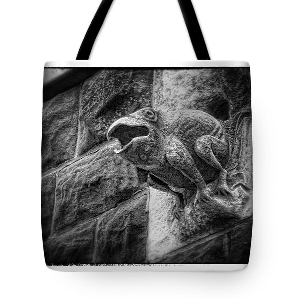 Sculpted Frog - Art Unexpected Tote Bag by Tom Mc Nemar