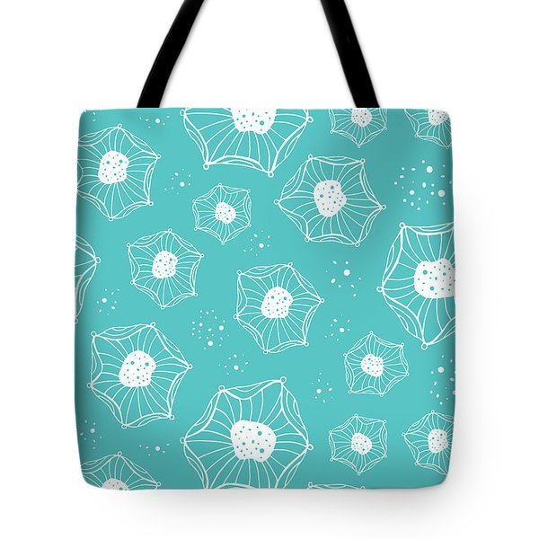 Sea Flower Tote Bag by Susan Claire