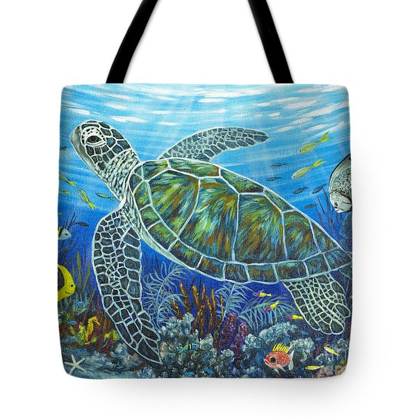 Sea Friends Tote Bag by Danielle  Perry