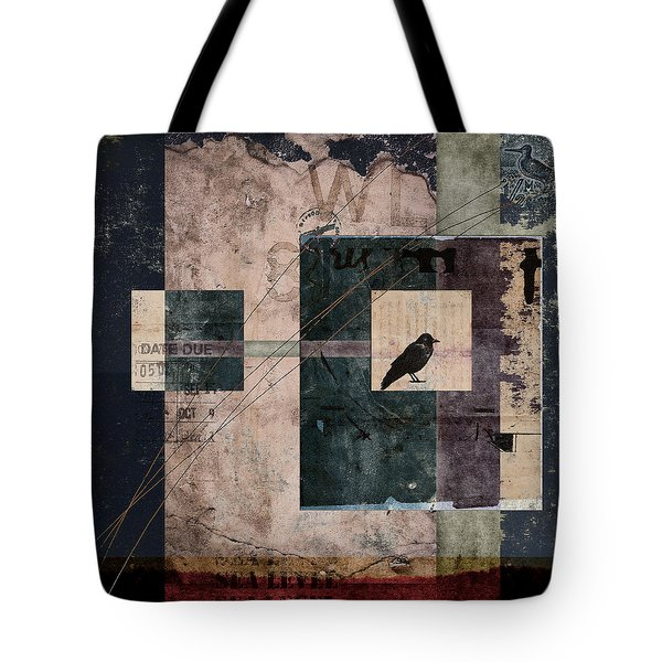 Sea Level Tote Bag by Carol Leigh