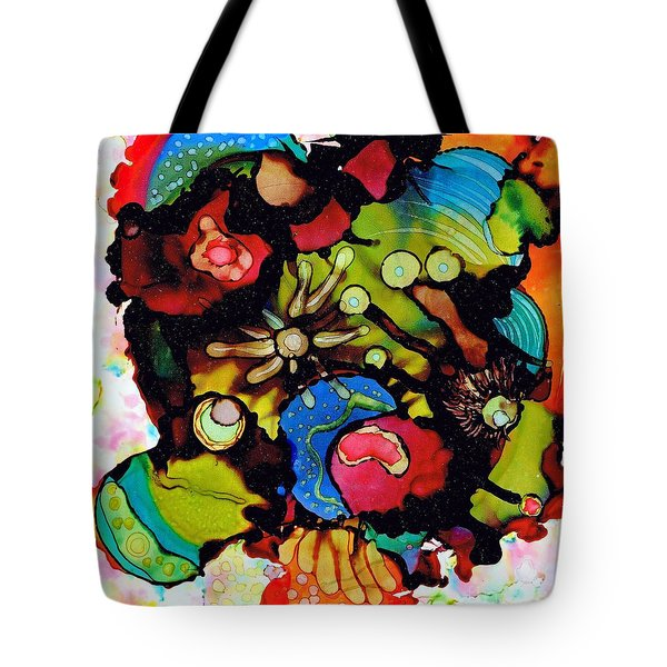 Sea Of Knowledge.. Tote Bag by Jolanta Anna Karolska