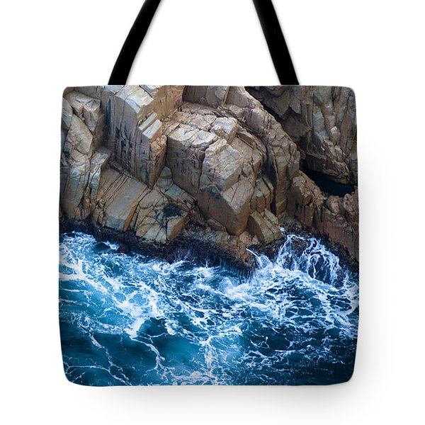 Sea Rocks Tote Bag by Frank Tschakert