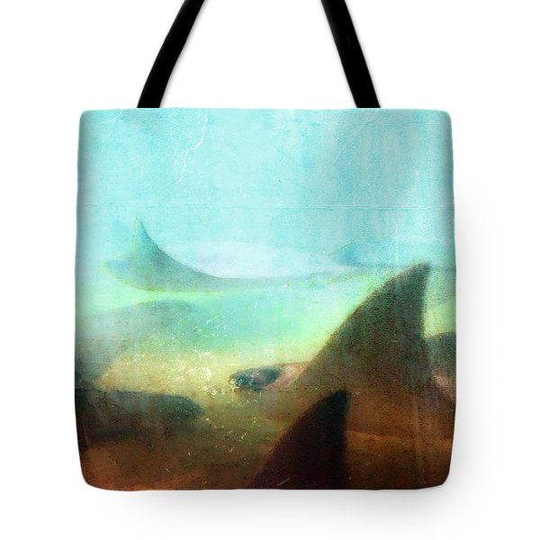Sea Spirits - Manta Ray Art By Sharon Cummings Tote Bag by Sharon Cummings