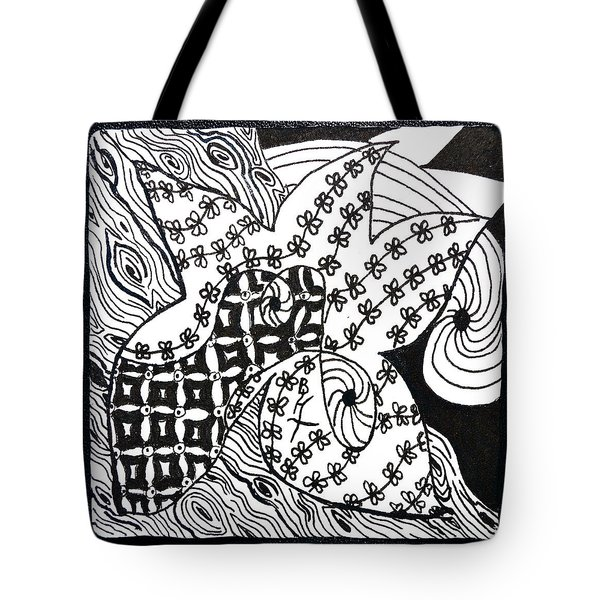 Sea Star Tote Bag by Beverley Harper Tinsley