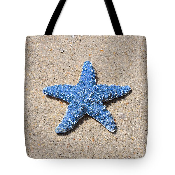 Sea Star - Light Blue Tote Bag by Al Powell Photography USA