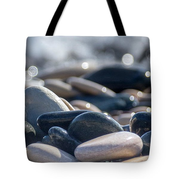 Sea Stones  Tote Bag by Stylianos Kleanthous