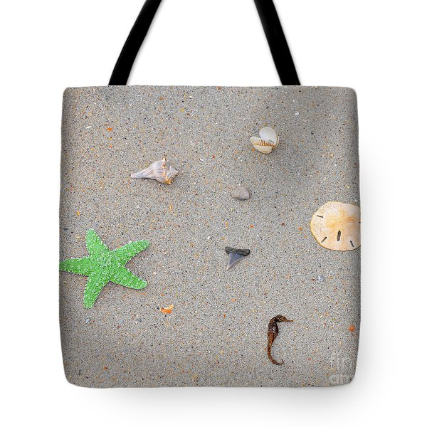 Sea Swag - Green Tote Bag by Al Powell Photography USA