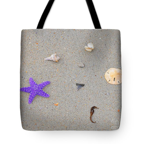 Sea Swag - Purple Tote Bag by Al Powell Photography USA